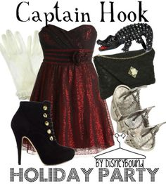 captain hook: holiday party styled outfit! WANT