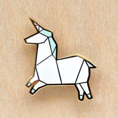 *Origami Unicorn Brooch - MISIA TR