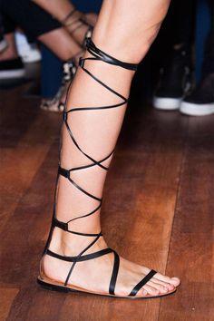Valentino sandal, $1,365, shopBAZAAR.com.   - HarpersBAZAAR.com