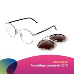 01d7a650740 Frame kacamata dengan bentuk bulat kembali ngetren di akhir tahun 2012 dan  sepertinya akan tetap menjadi