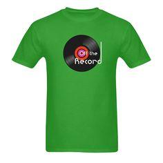 'Off The Record' Gildan Men's customisable T-shirt @artsadd #record #vinyladdict #musicfans #music #vinylcollector #offtherecord #vinyltees #artsadd #green #rock #records #fashion #nowplaying #dj #bands #nowspinning #vinyl #oldschool #images #wax #vinylfan