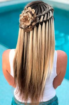 Double ladder braids hairstyles for Women 2019 Double ladder braids hairstyles for Women 2019 Easy Hairstyles For Long Hair, Creative Hairstyles, Loose Hairstyles, Bride Hairstyles, Pretty Hairstyles, Straight Hairstyles, Amazing Hairstyles, Hairstyles Videos, Hair Extensions Best