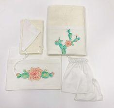Λαδόπανα χειροποίητα για κορίτσια με θέμα τον κάκτο, annassecret, Χειροποιητες μπομπονιερες γαμου, Χειροποιητες μπομπονιερες βαπτισης Little Star, Cactus, Products, Cactus Plants, Gadget