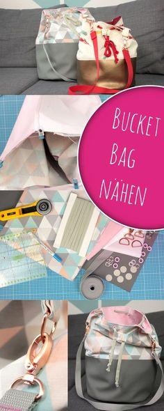 Bucket Bag nach Videoanleitung einfach selber nähen zusammen mit DIY Eule und Snaply