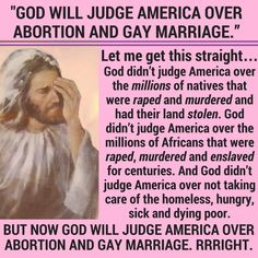 This makes God a fucking tool. But even so, why can't the assholes who believe this crap, leave the judgement to God and STFU?