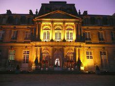 chteau de champltreux faade de nuit - Chateau De Pierrefonds Mariage