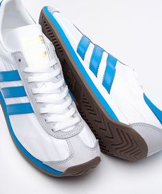 best service 9de9c 2387e adidas Originals Country OG BlueWhite