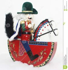 Christmas Nutcracker On A Horse - Download From Over 27 Million High Quality Stock Photos, Images, Vectors. Sign up for FREE today. Image: 20899894