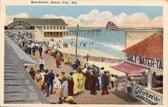 Boardwalk Ocean City Md
