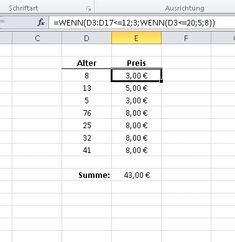 The If Then function in Excel even performs calculations with multiple condition . Die Wenn Dann Funktion in Excel führt sogar Berechnungen mit mehreren Bedingung… The If Then function in Excel even performs calculations with multiple conditions Computer Internet, Computer Technology, Computer Programming, Microsoft Excel, Software, Free Resume Examples, Website Optimization, Budget Planer, Nursing Assistant