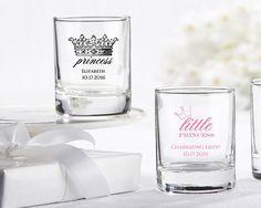 Personalized Shot Glass/Votive Holder - Little Princess