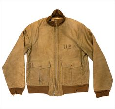 1930's US Navy Flight jacket 1