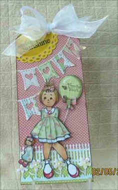 "Julie Nutting Prima ""Adara"" doll tag"