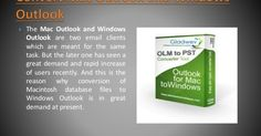 Convert .OLM email files to .PST format