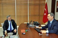 Ak Parti Zonguldak Milletvekili Faruk Çaturoğlu, Kdz. Ereğli Belediye Başkanı Hüseyin Uysal'ı ziyaret etti.