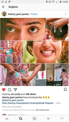 Nazriya Nazim, Samantha Photos, Beautiful Indian Actress, Indian Actresses, In This Moment, Cute, Collage, Awesome, Baby