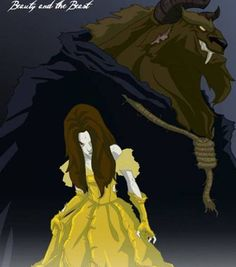 A twisted princess :-) I like Beast and Belle better this way.