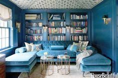 house beautiful peacock room - Google Search