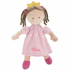 Personalized Little Princess Doll - 16 Inch - Brunette, Olivia DIBSIES Personalization Station http://www.amazon.com/dp/B00K1RKGMY/ref=cm_sw_r_pi_dp_oANQvb1ATZFYF