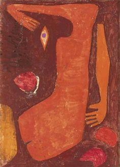 Paul Klee - Fragmenta Veneris, 1938, watercolour,...