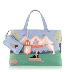 Statement Bag - Cats on the Jatte Bag by VIDA VIDA kKzjDvTD