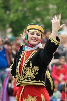 Traditional dancer in Turkey