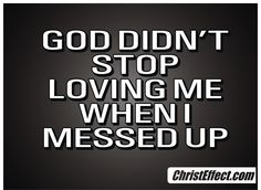 Don't ever forget this... www.ChristEffect.com