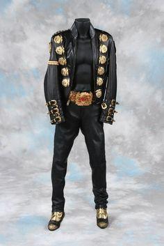 ichael Jackson costume from 1988 Bad Concert Tour : Lot 159