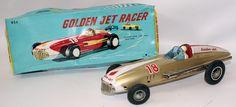 Golden Jet Racer #18 by Bandai, Japan