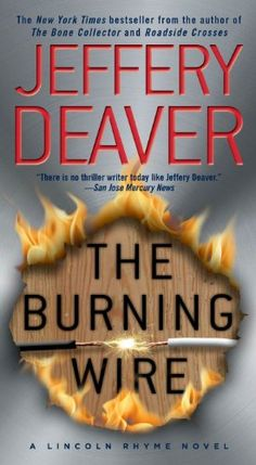 The Burning Wire: A Lincoln Rhyme Novel (Kathryn Dance thrillers Book 9) by Jeffery Deaver http://www.amazon.com/dp/B003BHM854/ref=cm_sw_r_pi_dp_eO80vb1V0D0ZQ