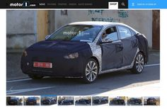 Global-spec 2017 Hyundai Verna seen testing for the 1st time
