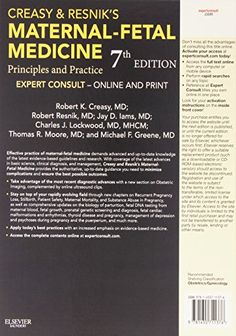 Creasy and Resnik's Maternal-Fetal Medicine: Principles and Practice, 7e #book #health http://www.healthbooksshop.com/creasy-and-resniks-maternal-fetal-medicine-principles-and-practice-7e-2/ Creasy and Resnik's Maternal-Fetal Medicine: Principles and Practice, 7e  Minimize complications with   Creasy and Resnik's Maternal-Fetal Medicine.   This medical reference book puts the most recent advances in basic science, clinical diagnosis, and management at your fingertips, equipping you w..