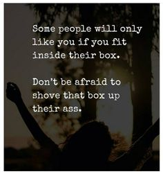 Boxes are toxic. Due to the lack of new experiences you essentially die from carbon monoxide poisoning...