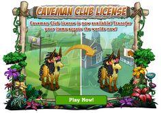 Caveman Club: Shipping License  Poteva mancare la Licenza per il trasferimento? Certo che no!  La troviamo nel Market a 150FVCash!!  Ricordiamo ai più distratti che è prevista come sempre la BEAT che ci permetterà di avere la licenza GRATUITAMENTE!