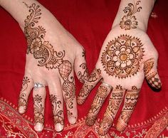 Stylish Mhendi Designs 2013 Pics Photos Pictures Images: Henna Tattoo Designs For Hands Henna Tattoo Indian Arabic Design Pictures Pics Images