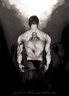 Derek Hale: Army of One by ~sanjoin on deviantART (Derek Hale, Tyler Hoechlin, Teen Wolf Fanart)