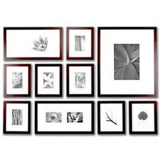 [deluxe wall gallery frame set], gallery wall frame kit, wall frame set with template Gallery Frame Set, Picture On Wood, Wood Picture Frames, Black Picture, 10 Picture, Picture Frame Layout, Photo Wall Hanging, Picture Arrangements, Photo Arrangement