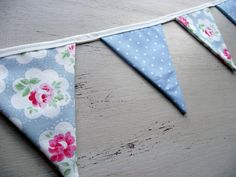 Polka Dot And Floral Mini Bunting in Cath Kidston by DandyLane, £12.00