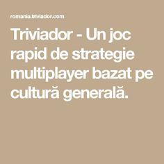 Triviador - Un joc rapid de strategie multiplayer bazat pe cultură generală. Green Theme, Culture