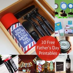 10 Free Printables He'll Love For Father's Day