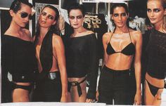 Backstage @ Gucci by Tom Ford S/S 1997