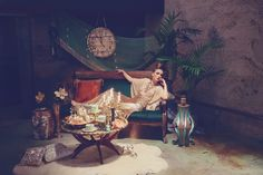 Art Nouveau Mystic Inspiration...design by www.powwowvintagerentals.com photo by http://www.marilynnakazato.com/
