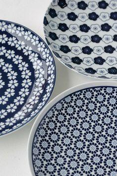 Beautiful Japanese plates