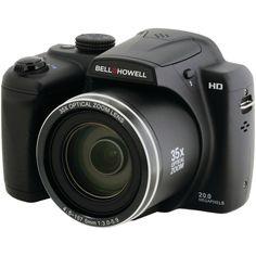 Bell+howell 20.0 Megapixel B35hdz Digital Camera With 35x Optical Zoom