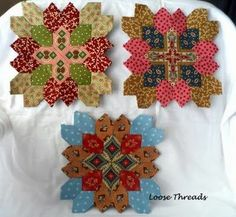 Loose Threads: Lucy Boston Patchwork of the Crosses