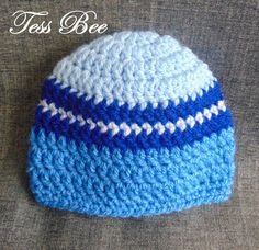 Baby Boy Hat, Baby Beanie, Trendy Baby Hat, Take Home Hat, Baby Shower Gift, New Baby Gift, Hospital Hat, Newborn, 0-3m, 3-6m, 6-12m Handmade Baby Gifts, New Baby Gifts, Baby Shower Gifts For Boys, Baby Boy Shower, Baby Boy Beanies, Baby Layette, Crochet Baby Hats, Trendy Baby, New Baby Products