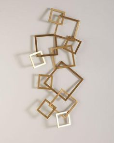 Get stylish designs of abstract metal wall sculptures to decorate the walls metal or glass Metal Wall Sculpture, Wall Sculptures, Popsicle Stick Crafts, Craft Stick Crafts, Vitrine Design, Crystal Garden, Wall Ornaments, Wall Accessories, Diy Wall Decor