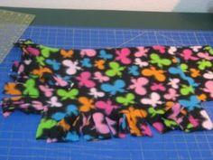 No sew sleeping bag for American girl