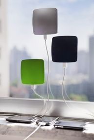 Solar phone-charger for road trips or life in general. so cool!!!