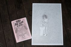 """The """"Wash Your Hands & Repeat. Vol. 1"""" OCD-Themed Art Zine with Free Poster auf Etsy, 7,67€"""